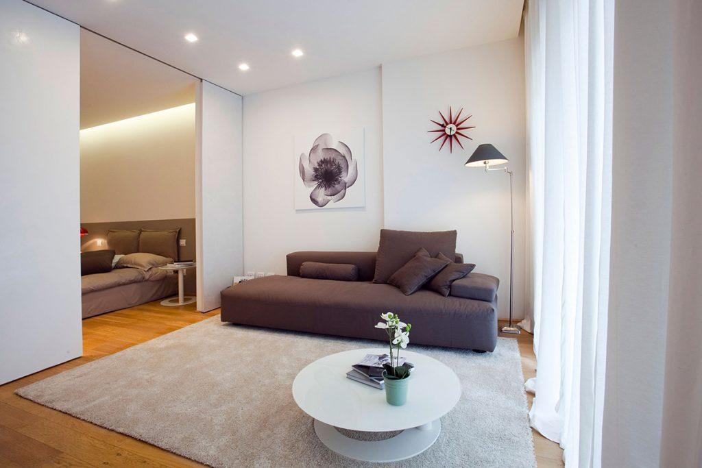 Lama minimalista soggiorno
