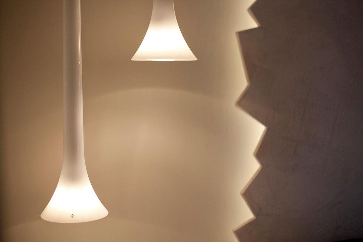 Lama stile eclettico lampada