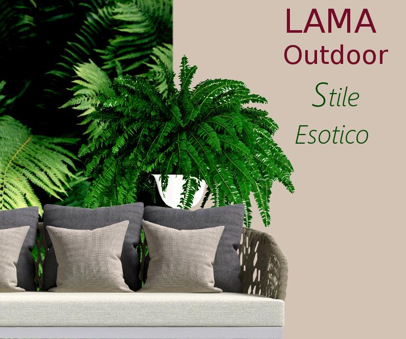 LAMA | Lama è Stile Esotico Outdoor!