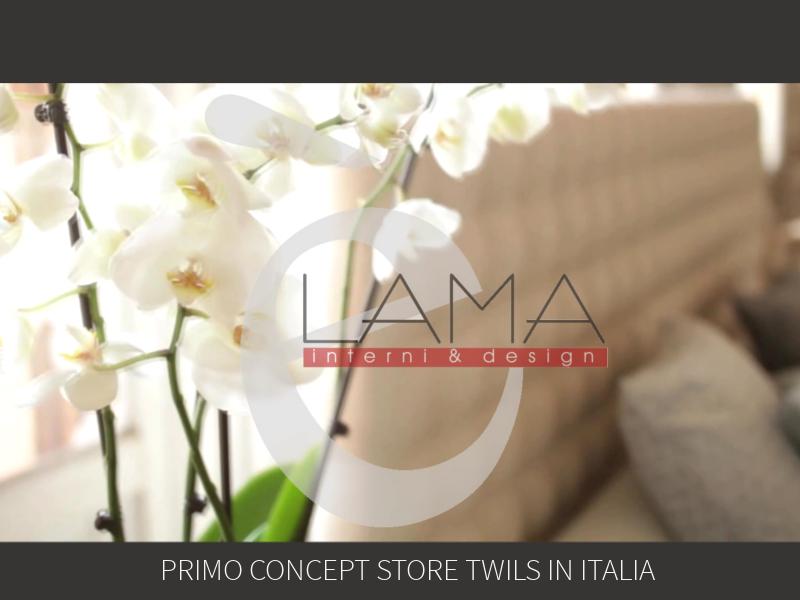 LAMA Primo Concept Store Twils: Anteprima divani!