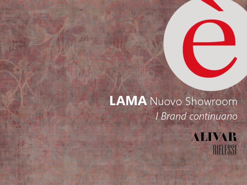 LAMA | Nuovo showroom. I brand continuano: Riflessi e Alivar