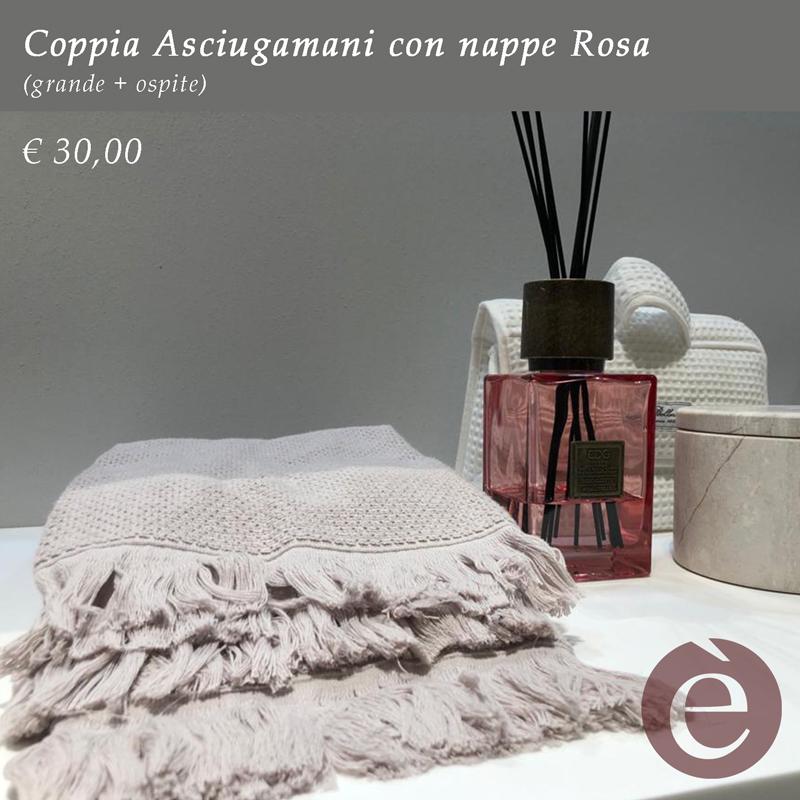 Coppia-asciugamani-Rosa