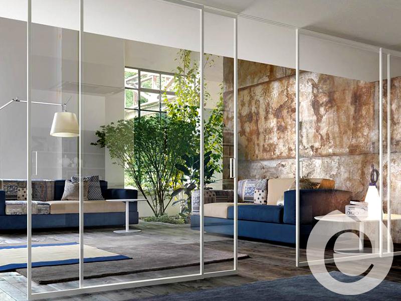LAMA Design è Sistemi di divisione. 5 consigli per dividere la zona giorno con porte scorrevoli!